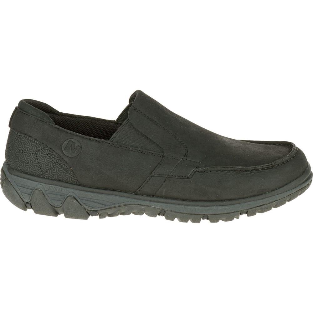 MERRELL Men's All Out Blazer Moc Shoes, Black - BLACK