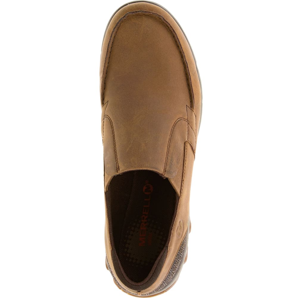 MERRELL Men's All Out Blazer Moc Shoes, Merrell Tan - MERRELL TAN