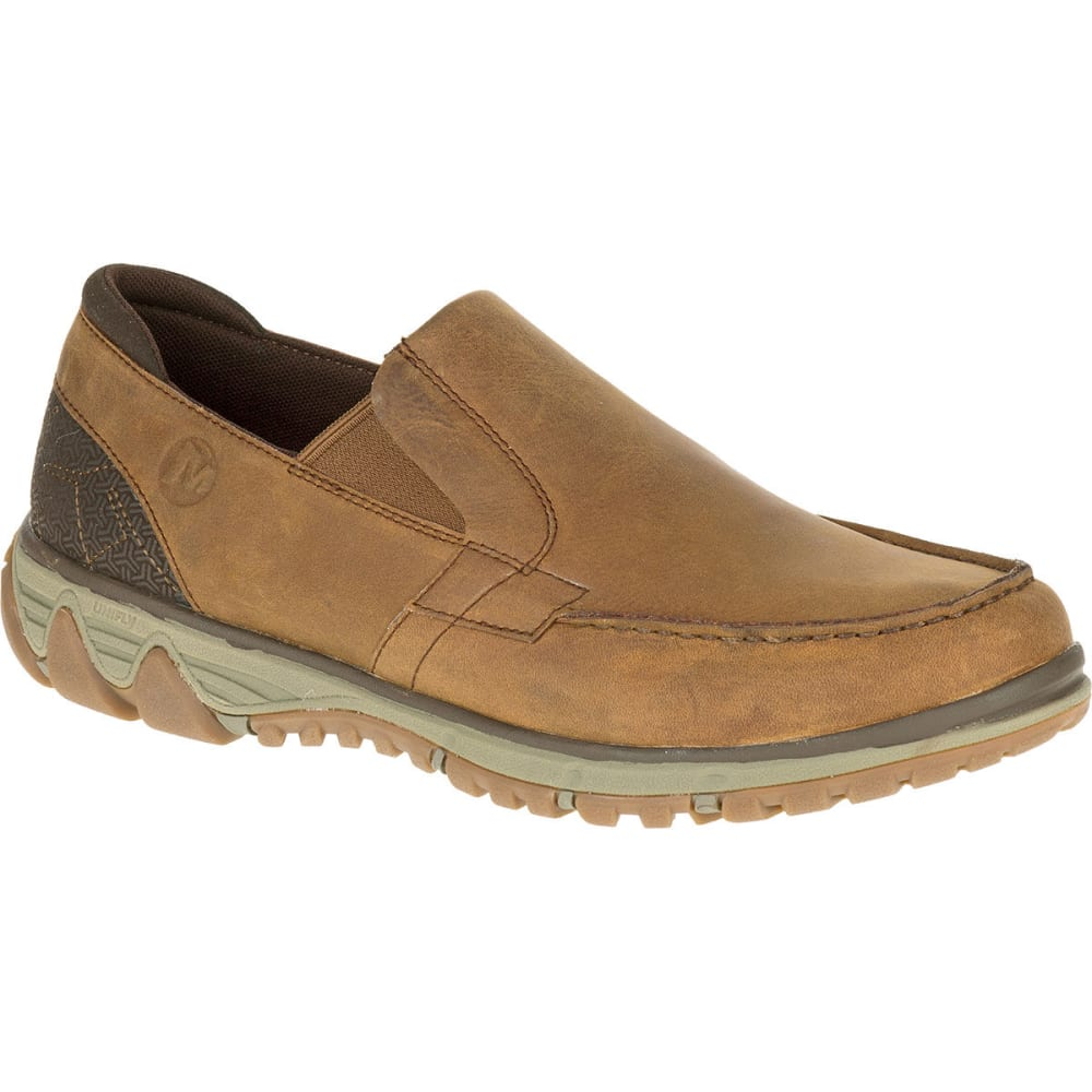 MERRELL Men's All Out Blazer Moc Shoes, Merrell Tan - MERRELL TAN
