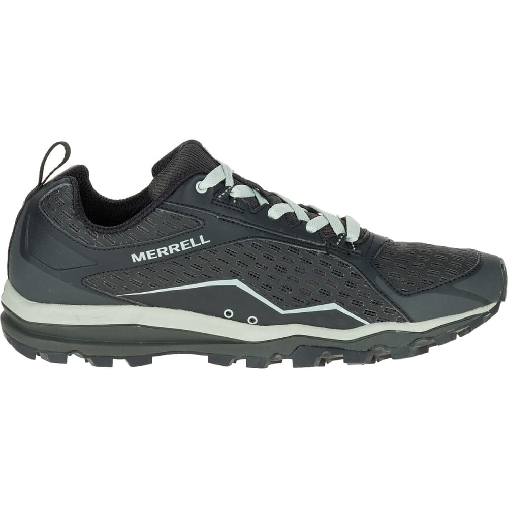MERRELL Men's All Out Crush Trail Running Shoes, Black - BLACK