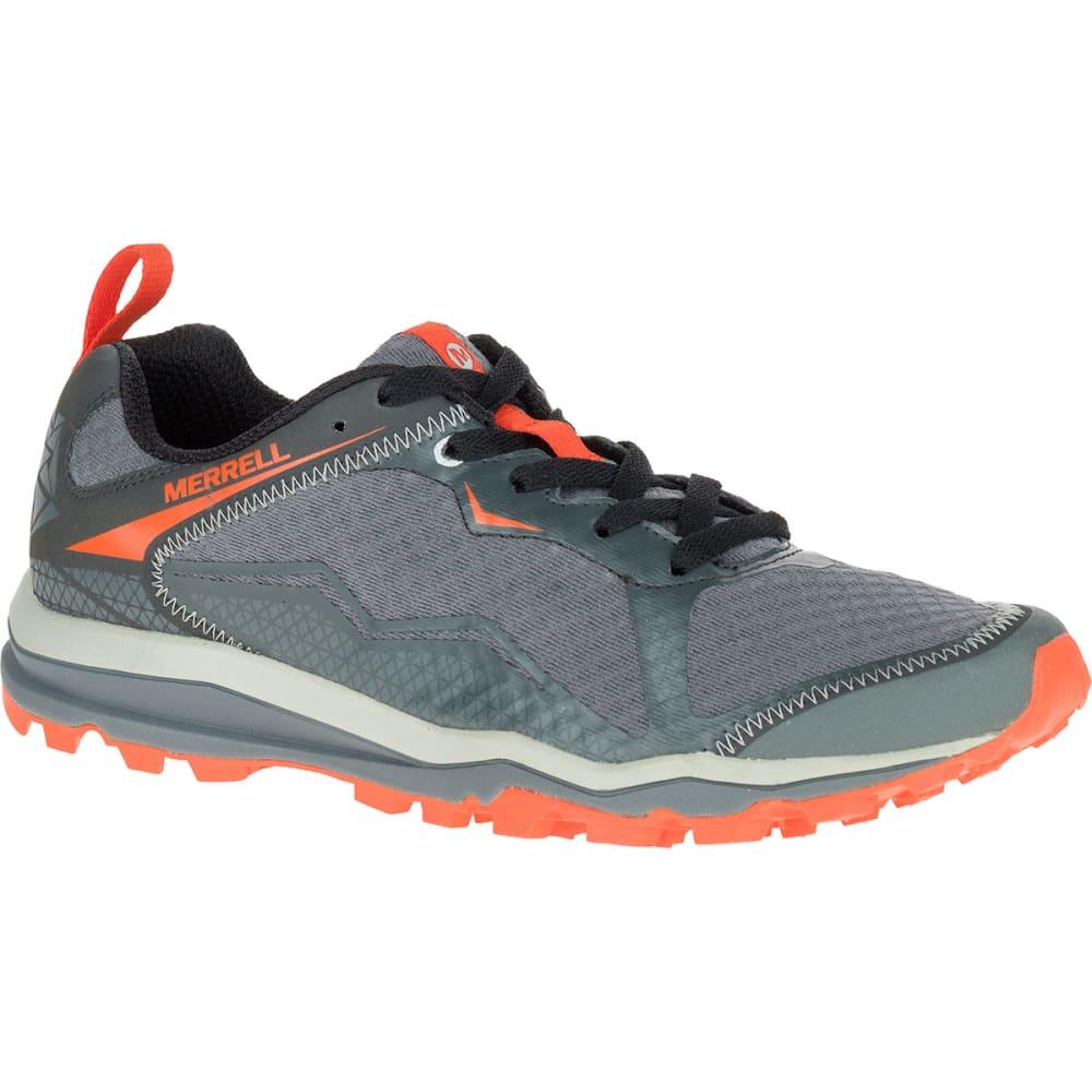 Men Merrell Black Sneakers All Out Crush Light Trail Running