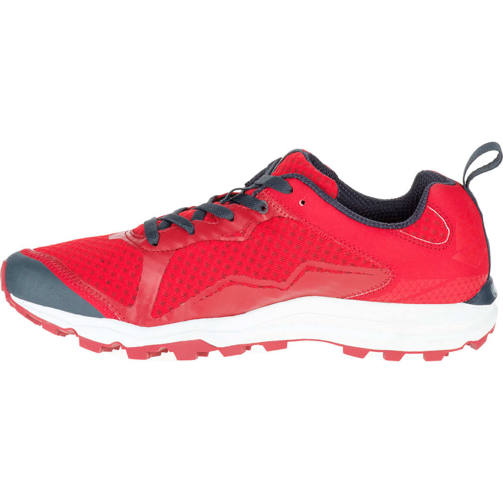 MERRELL Men's All Out Crush Light Trail Running Shoes, Red - RED