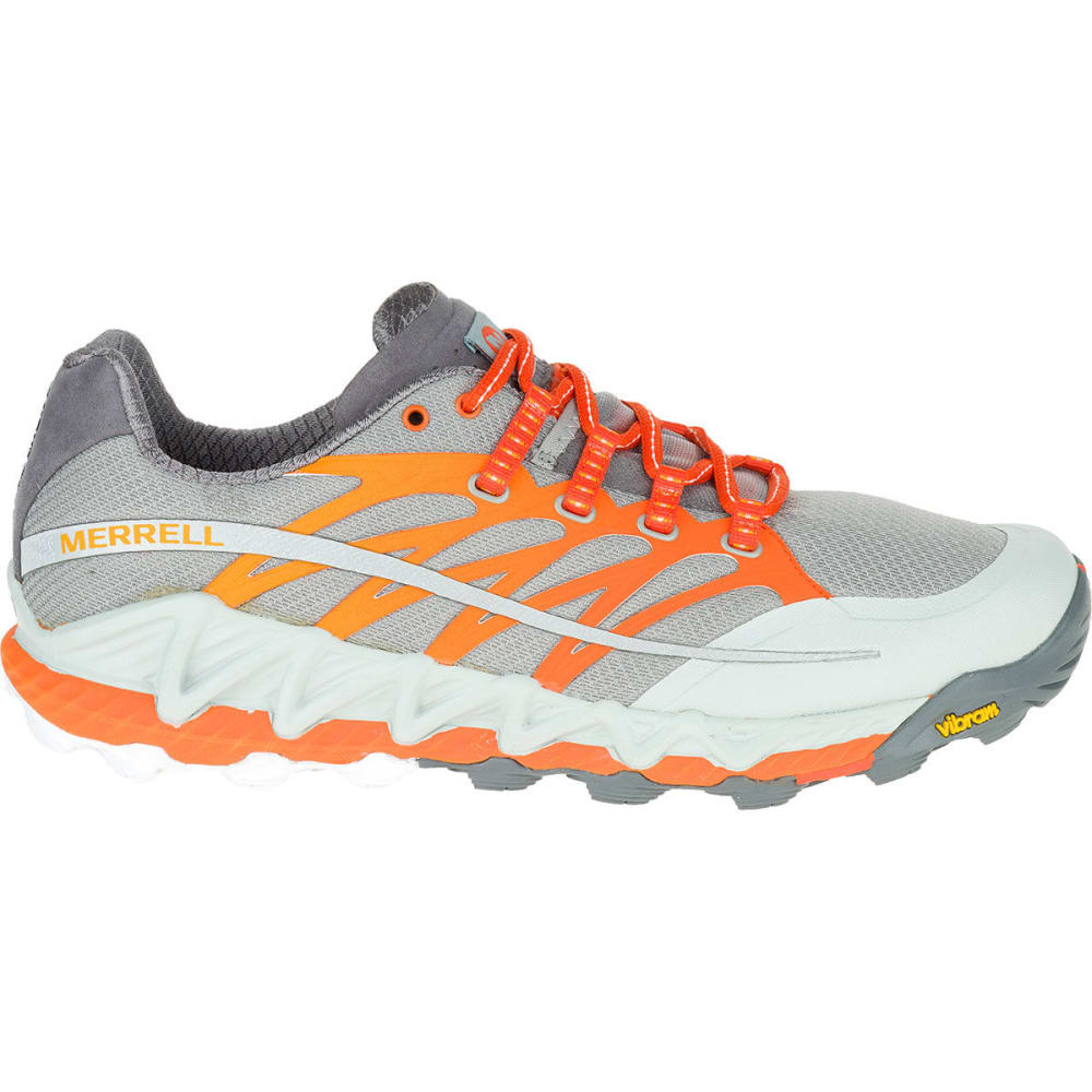 MERRELL Men's All Out Peak Trail Running Shoes - GREY