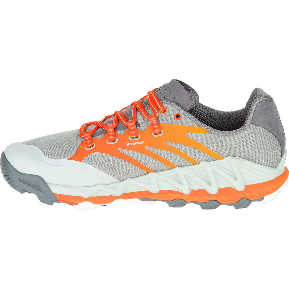 f6974f87c4e960 MERRELL Men's All Out Peak Trail Running Shoes - GREY