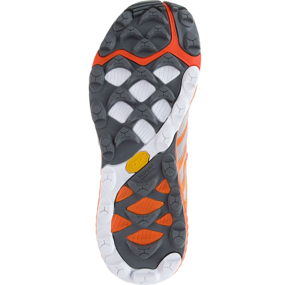 584ade79505 MERRELL Men's All Out Peak Trail Running Shoes - GREY