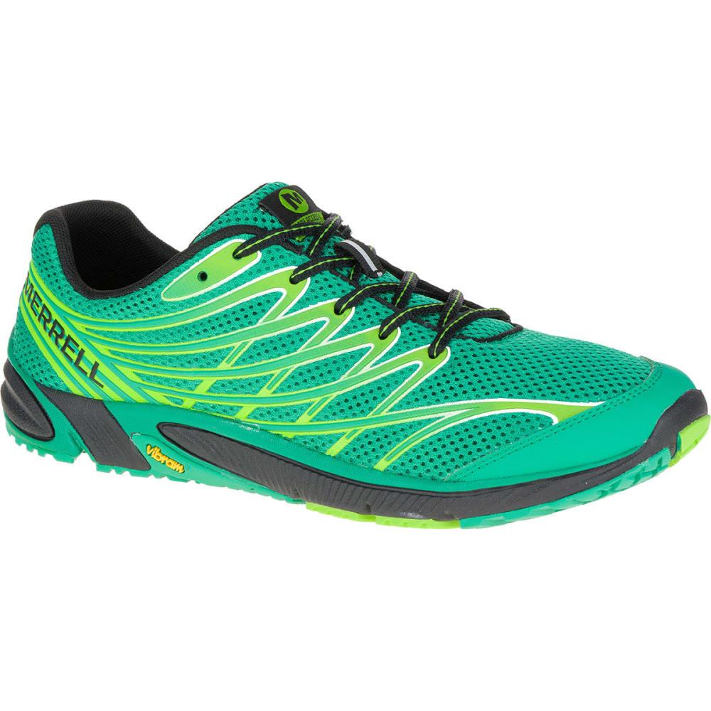 MERRELL Men's Bare Access 4 Running Shoes, Bright Green - BRIGHT GREEN