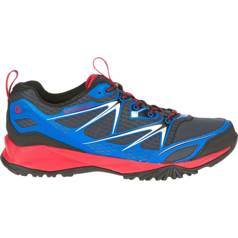 MERRELL Men's Capra Bolt Trail Shoes, Blue - BLUE