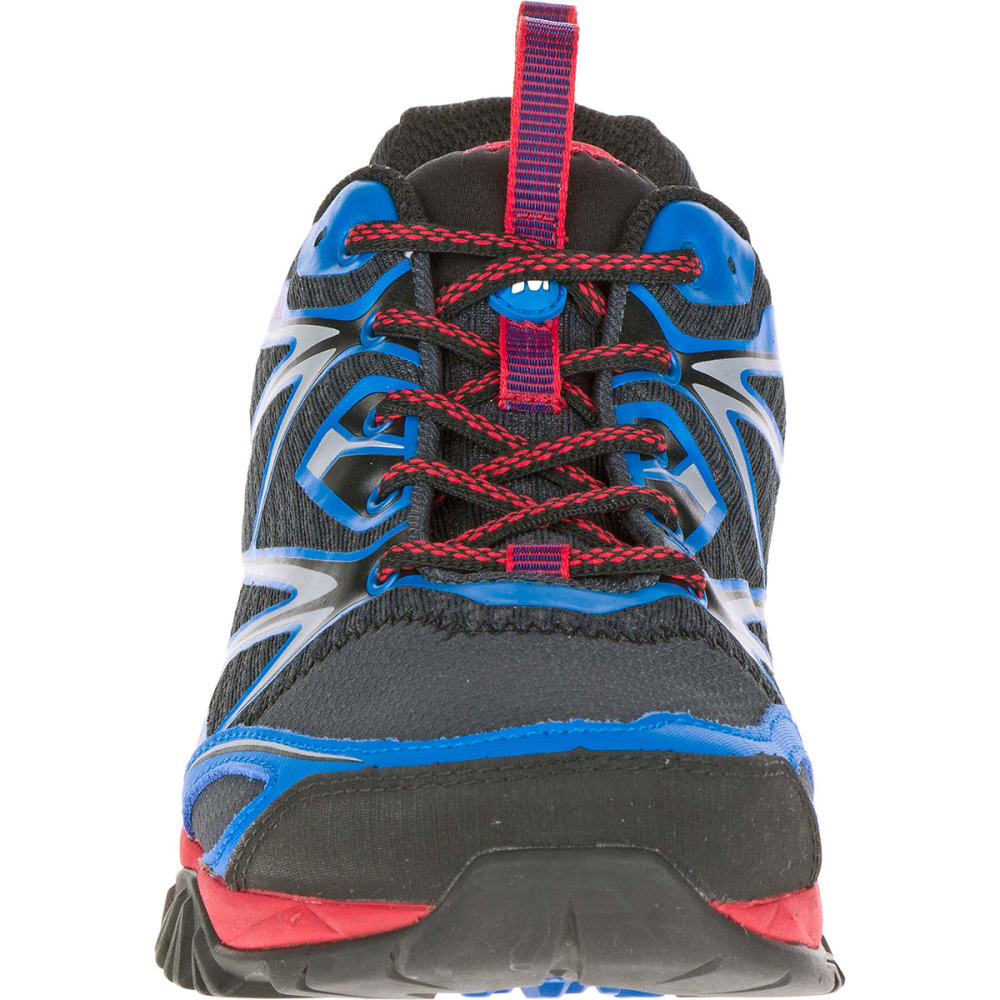 MERRELL Men's Capra Bolt Trail Shoes, Blue - BLUE
