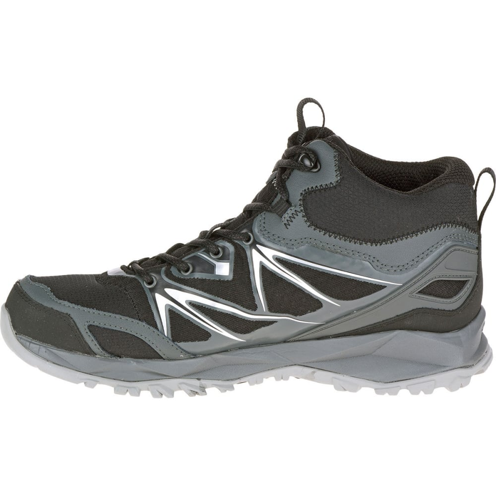 030fc07edce MERRELL Men's Capra Bolt Mid Waterproof Hiking Boots, Black