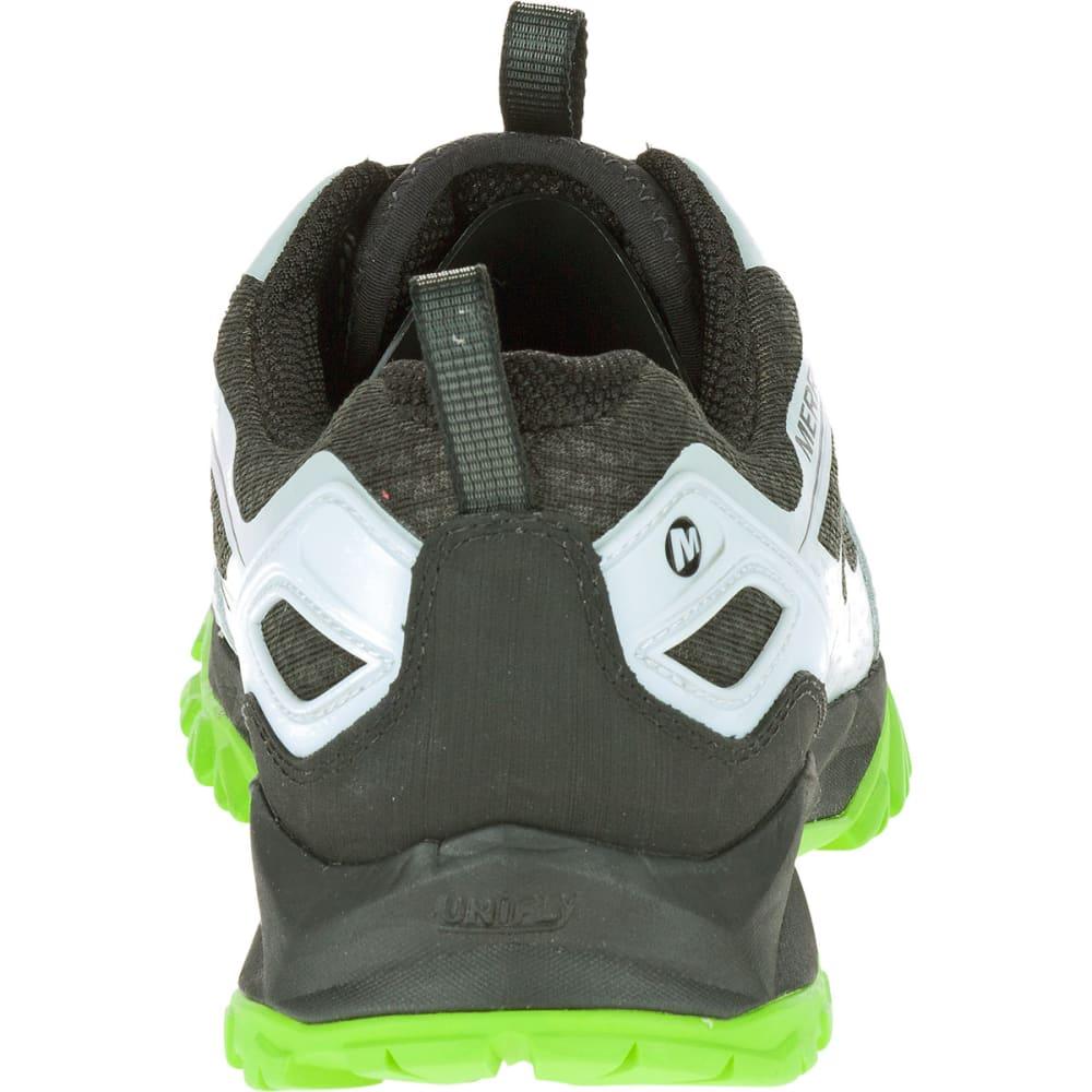 MERRELL Men's Capra Bolt Waterproof Trail Shoes, Black/Silver - BLACK/SILVER