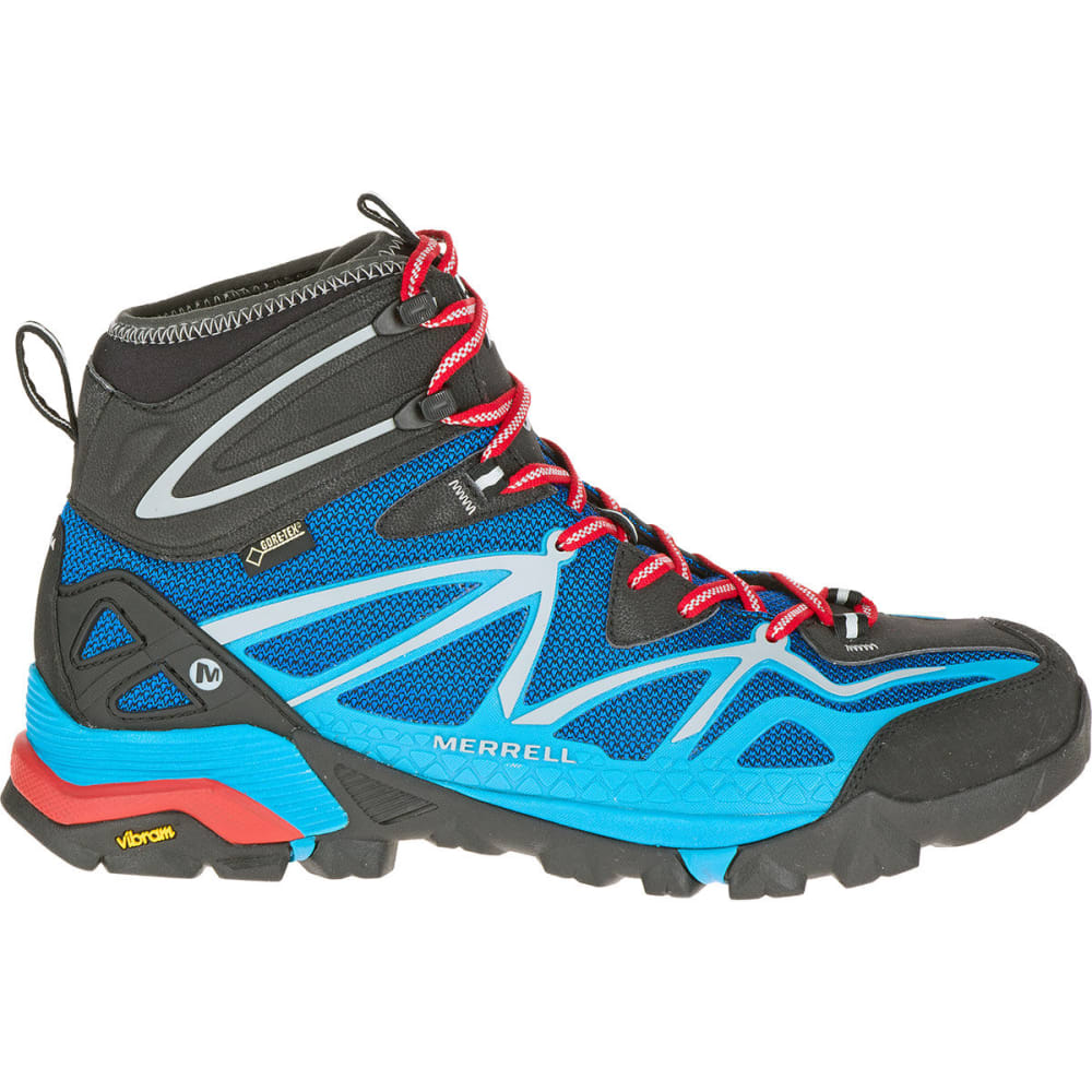 winkelen voor kijk uit voor goedkoop voor korting MERRELL Men's Capra Mid Sport Gore-Tex Hiking Boots