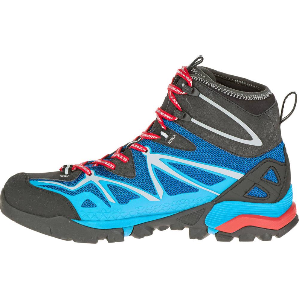 MERRELL Men's Capra Mid Sport Gore-Tex® Hiking Boots - BLUE