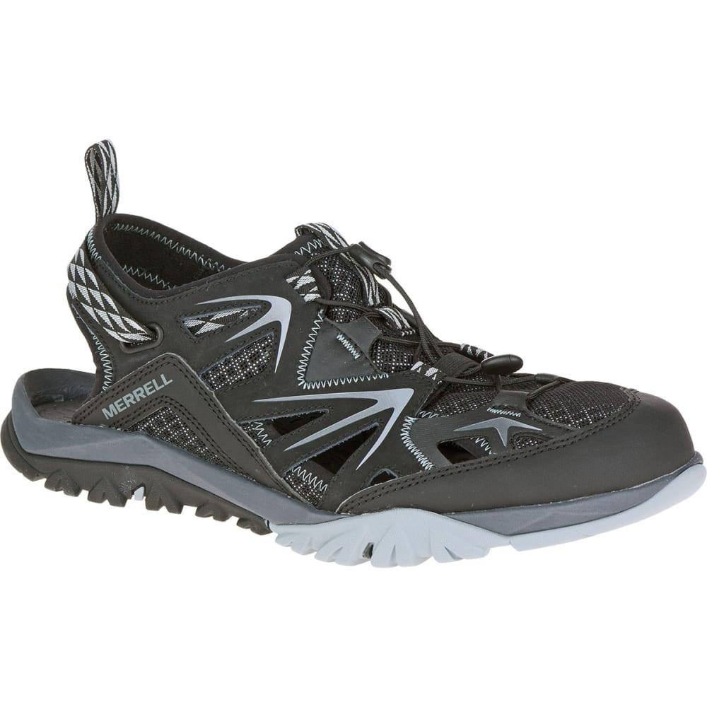 MERRELL Men's Capra Rapid Sieve Hiking Sandals, Black - BLACK