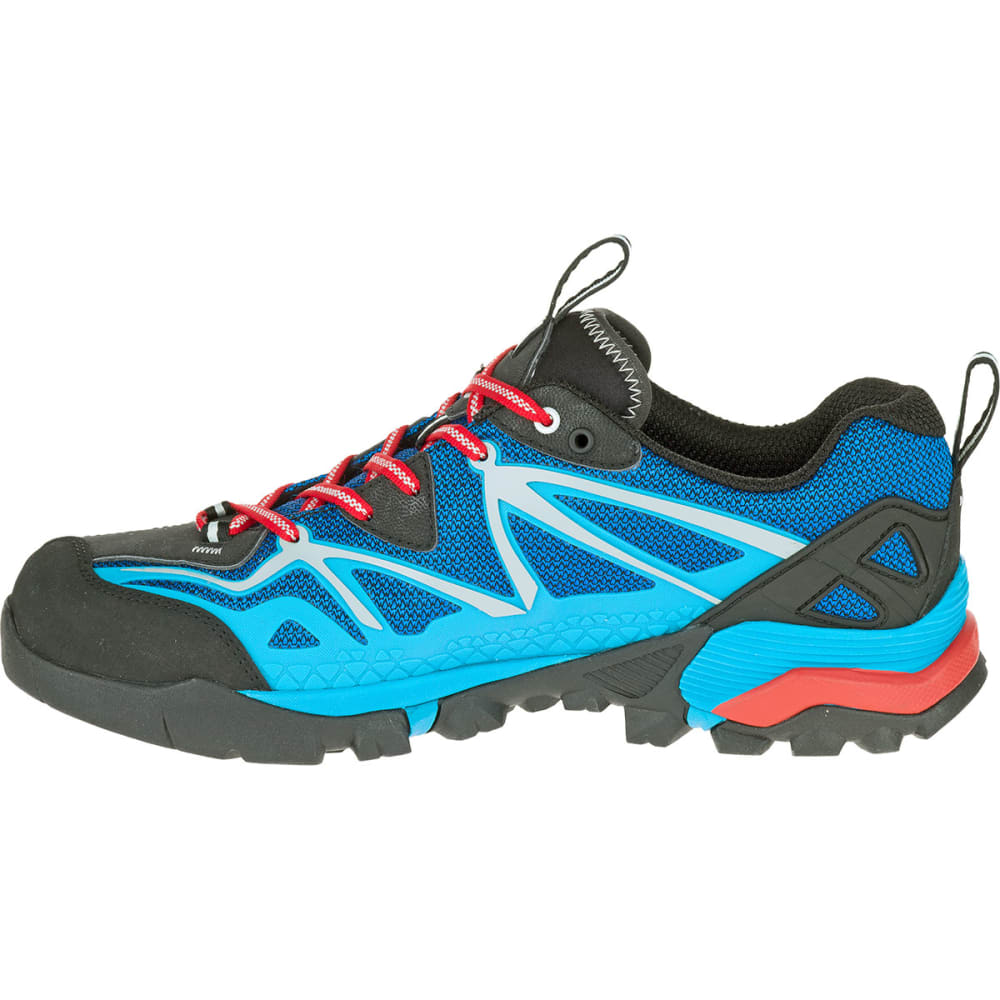 MERRELL Men's Capra Sport Hiking Shoes, Blue - BLUE
