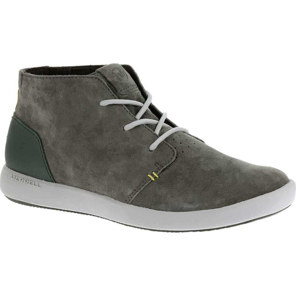 MERRELL Men's Freewheel Bolt Chukka Shoes, Granite - GRANITE