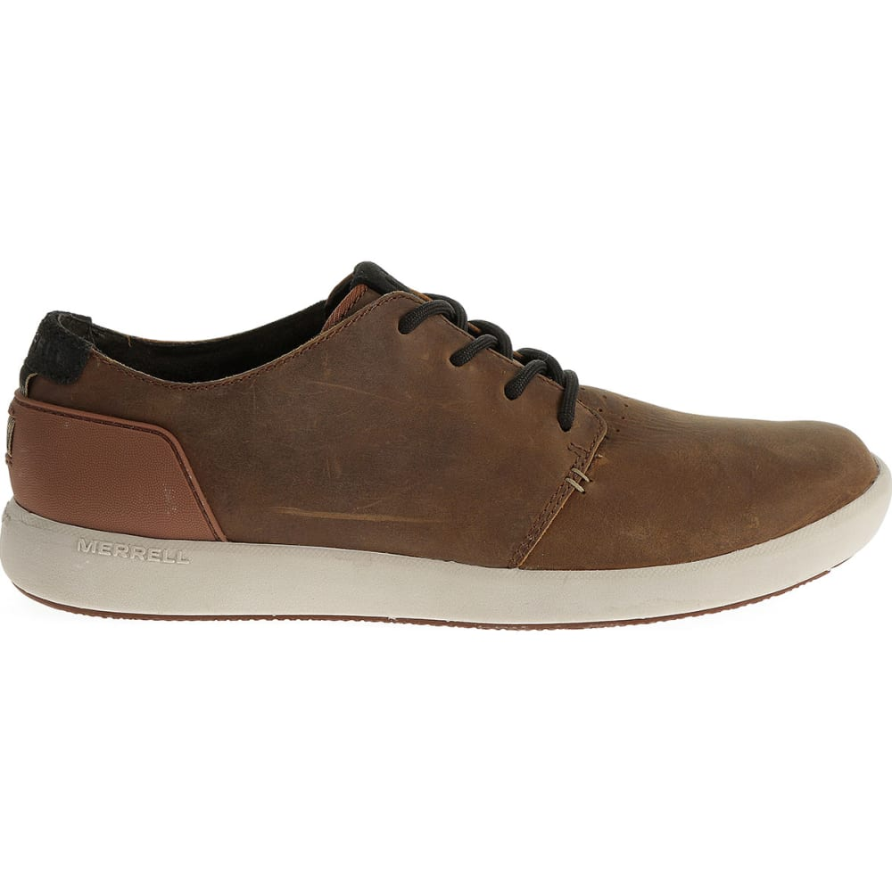 MERRELL Men's Freewheel Lace Shoes, Copper - COPPER