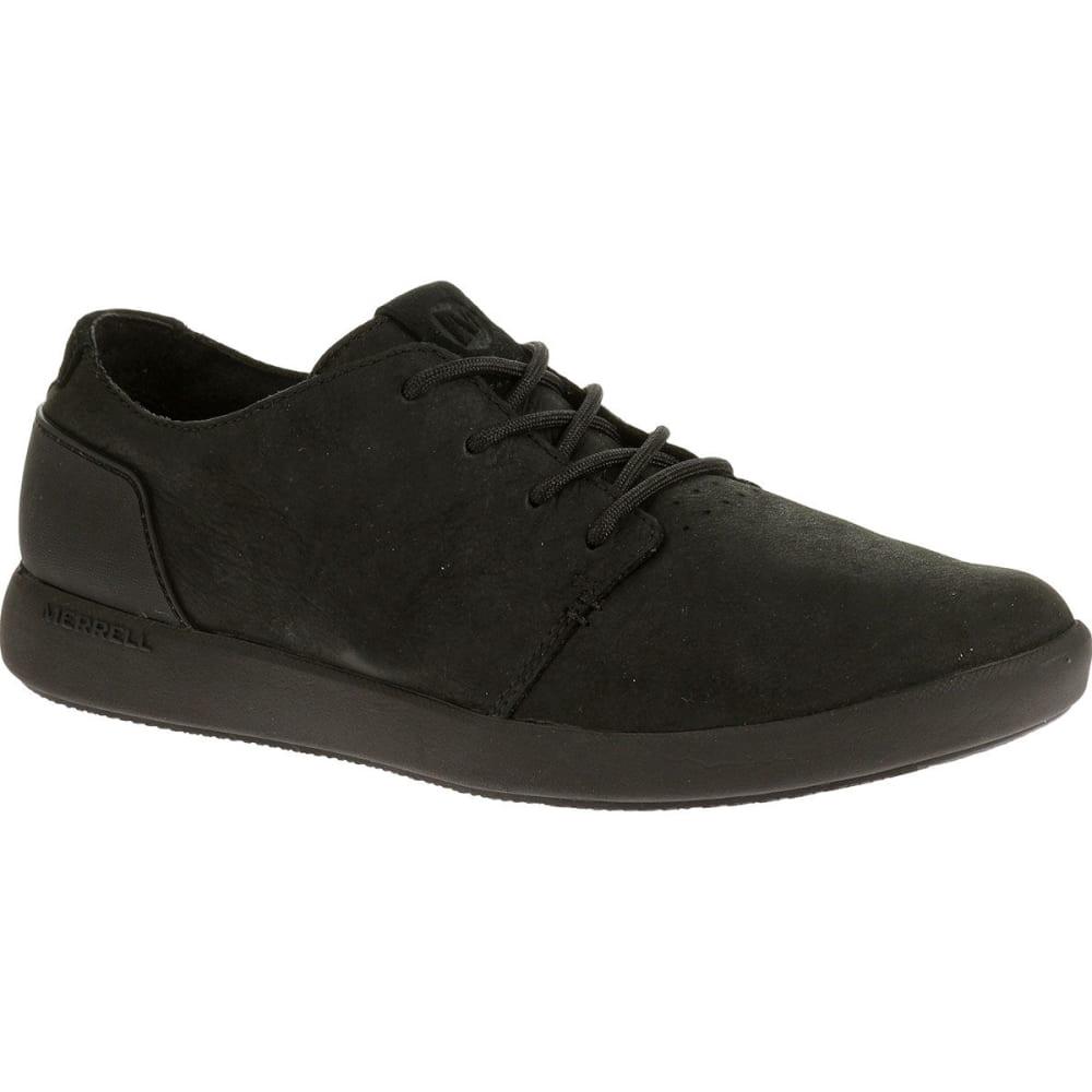 MERRELL Men's Freewheel Lace Shoes, Black - BLACK/BLACK
