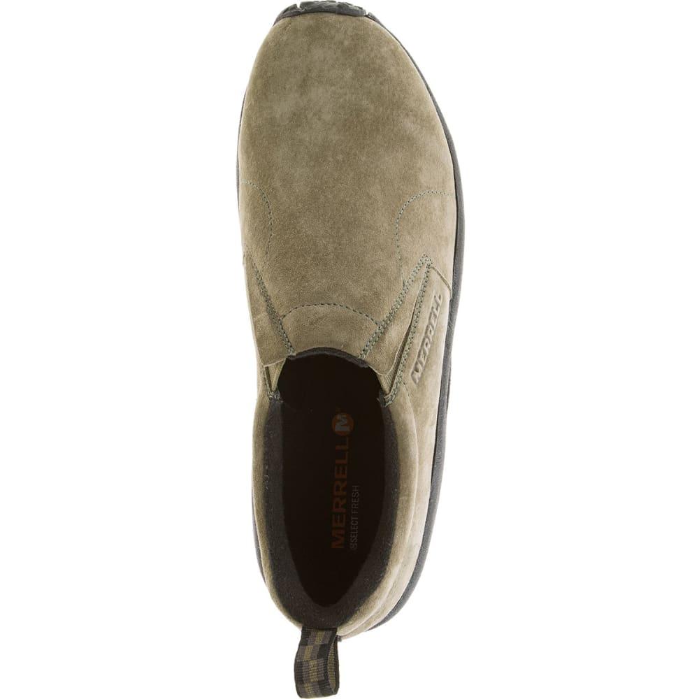 MERRELL Men's Jungle Moc Shoes, Dusty Olive - DUSTY OLIVE