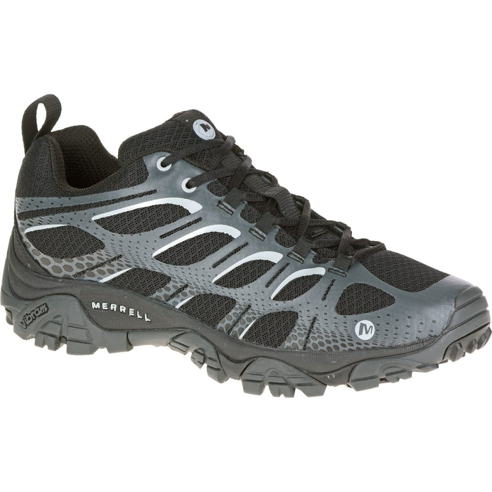 merrell s moab edge shoes black grey
