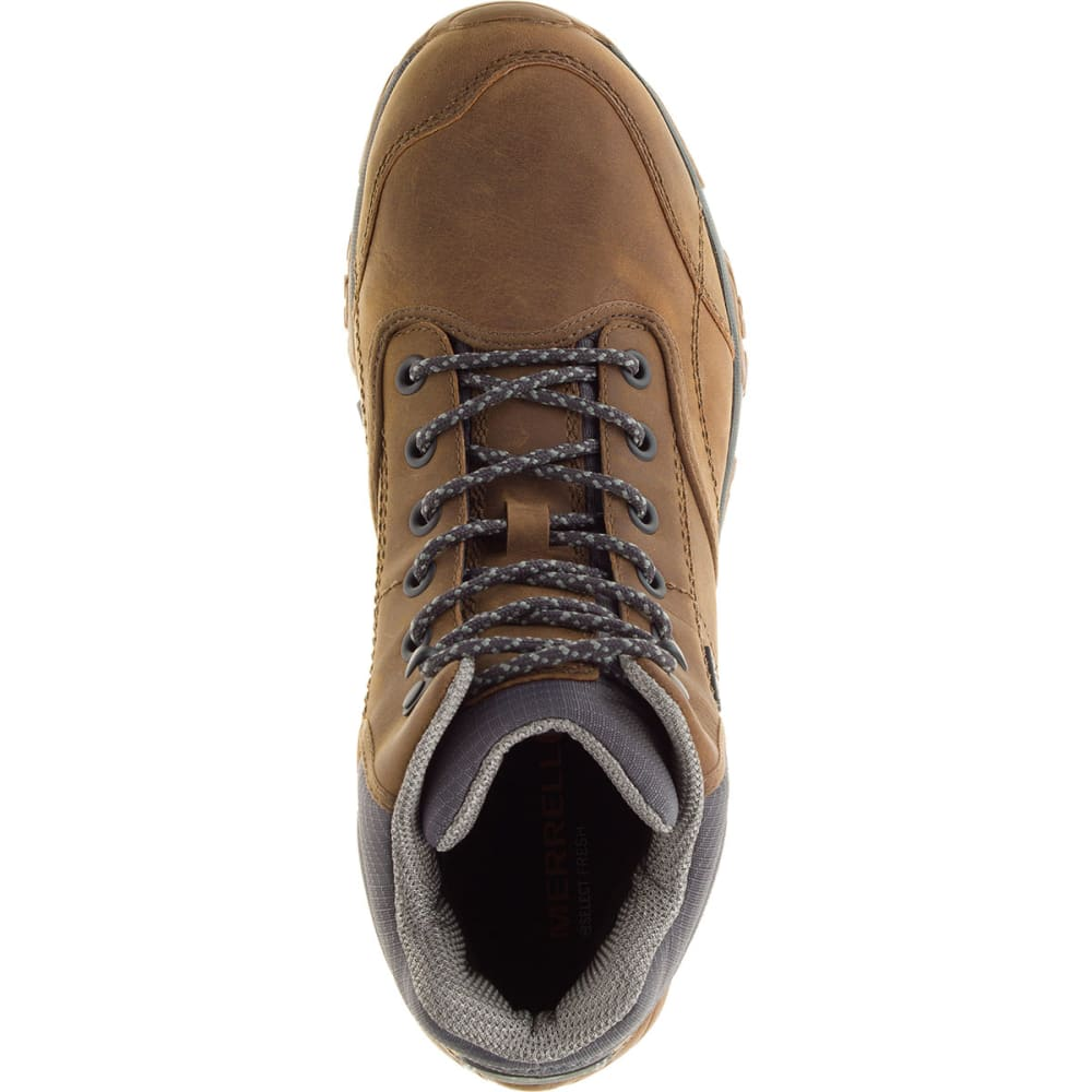 MERRELL Men's Moab Rover Mid Waterproof Hiking Boots, Merrell Tan - MERRELL TAN