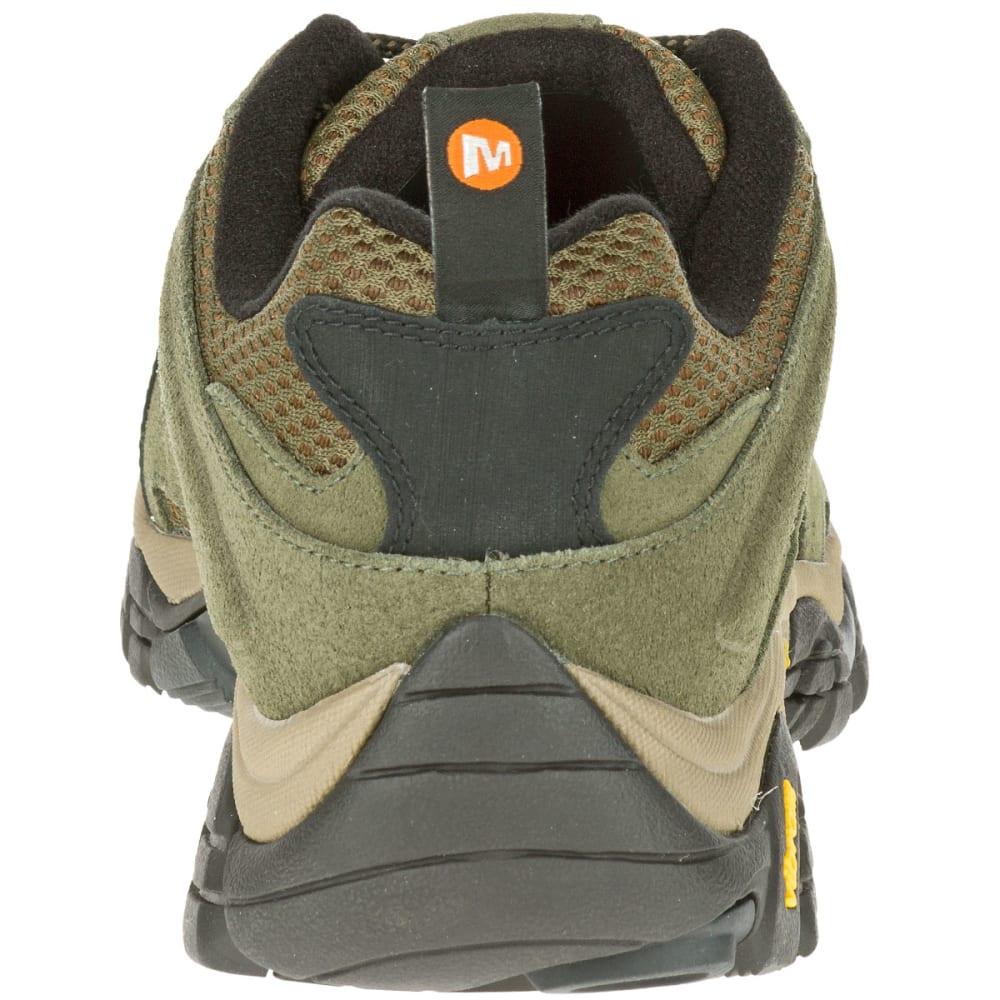 MERRELL Men's Moab Ventilator Hiking Shoes, Olive - OLIVE