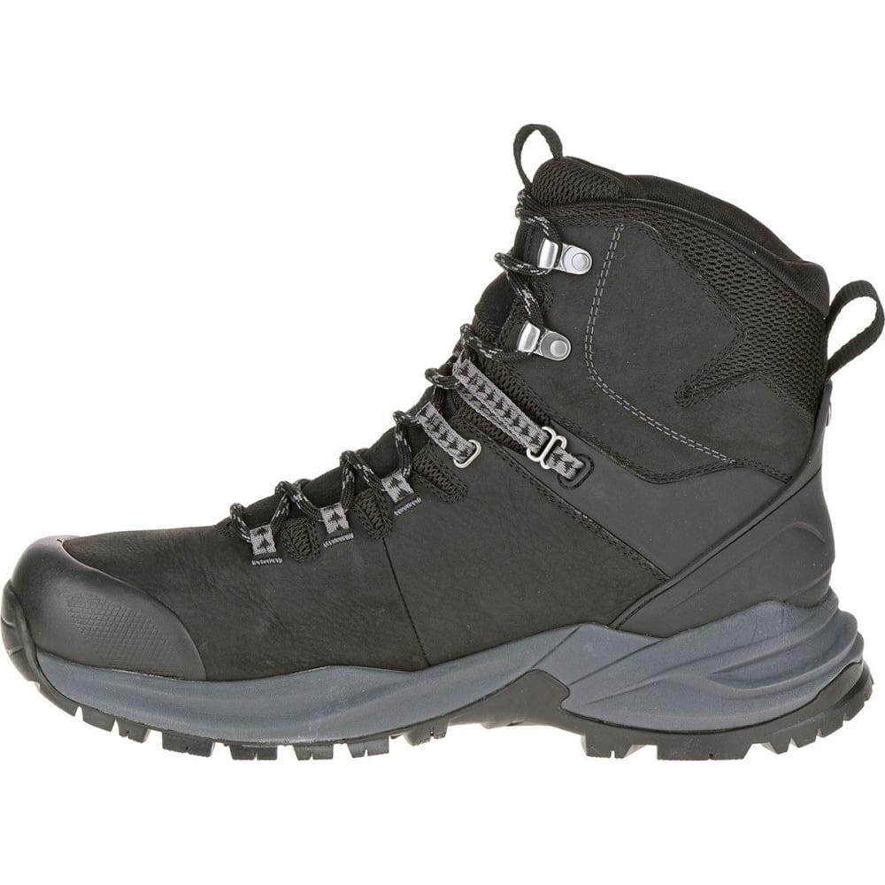 MERRELL Men's Phaserbound Waterproof Backpacking Boots, Black - BLACK