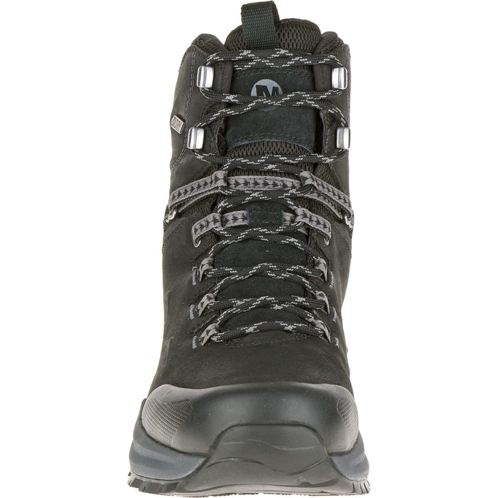 MERRELL Men's Phaserbound Waterproof Backpacking Boots, Black - BLACK