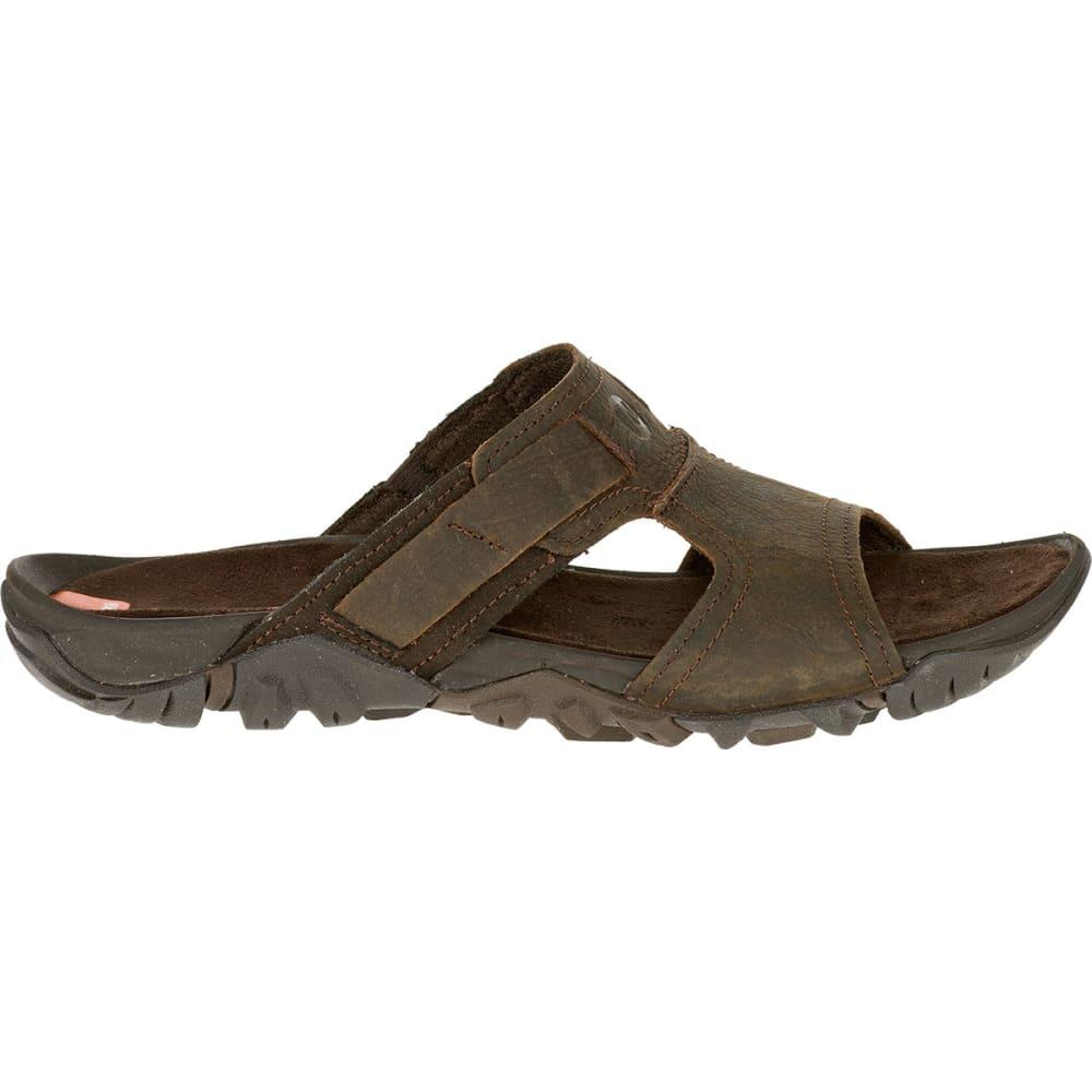 a0d855f71 MERRELL Men's Telluride Slide Sandals, Clay - CLAY