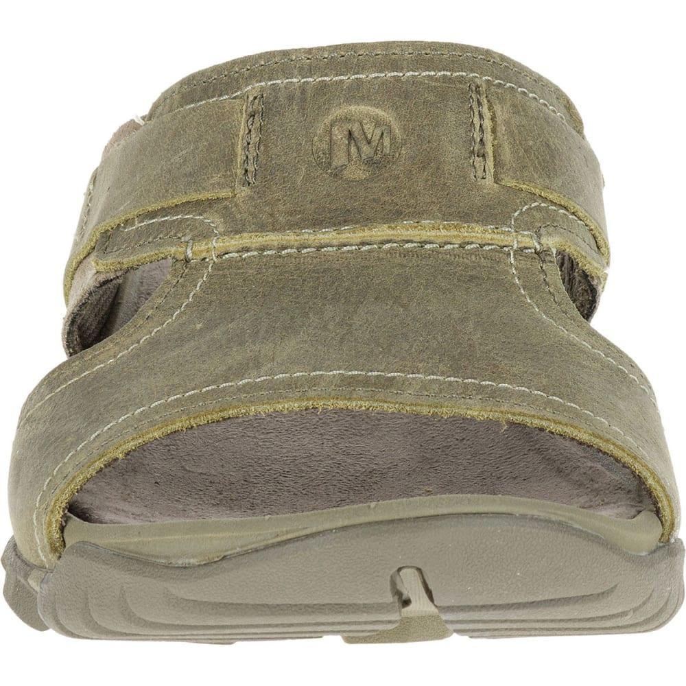 85e80c123 MERRELL Men's Telluride Slide Sandals, Stucco - STUCCO