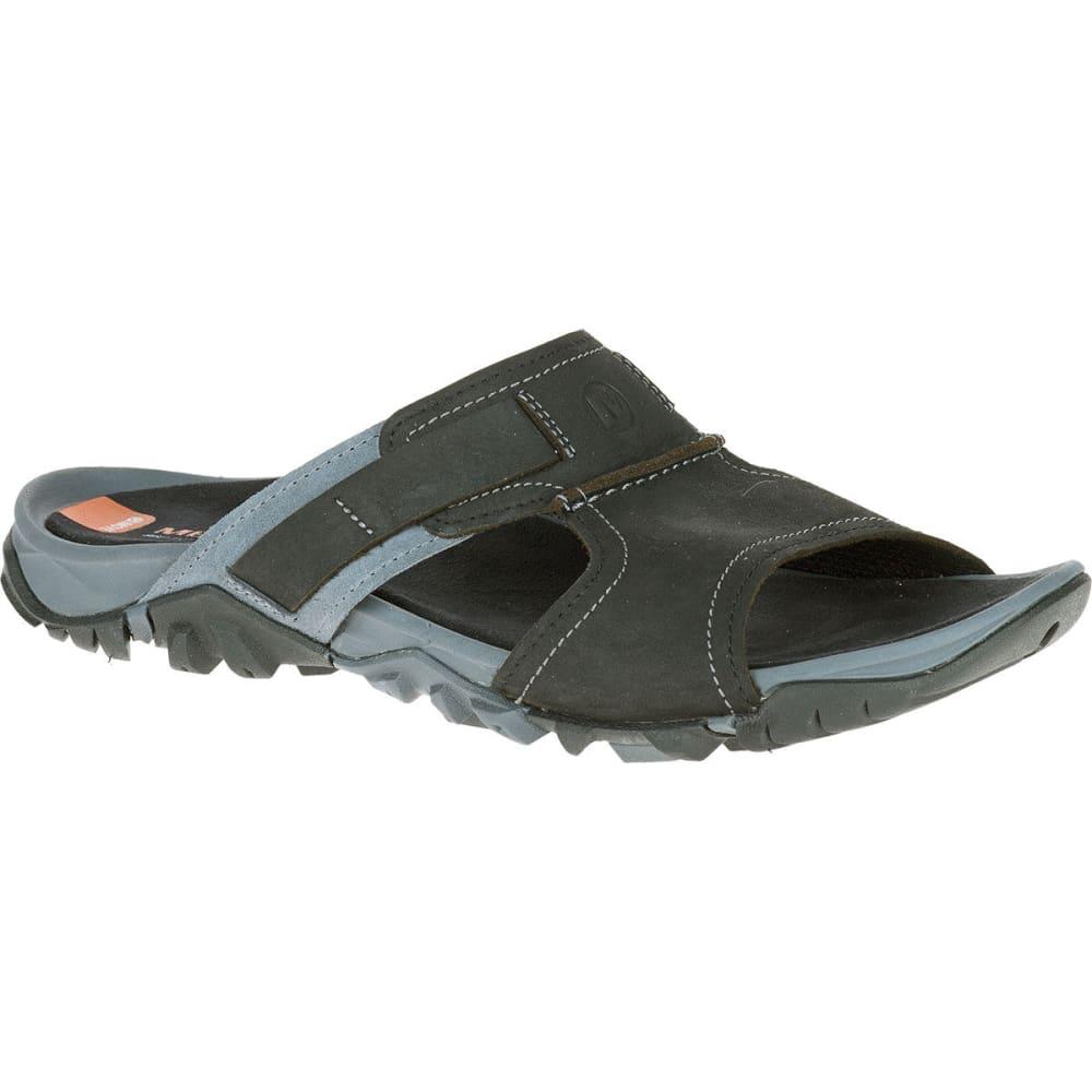 ee11a54b8 MERRELL Men's Telluride Slide Sandals, Black - BLACK