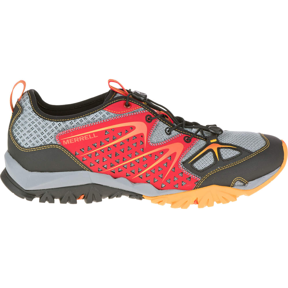 MERRELL Men's Capra Rapid Hiking Shoes, Bright Red - BRIGHT RED