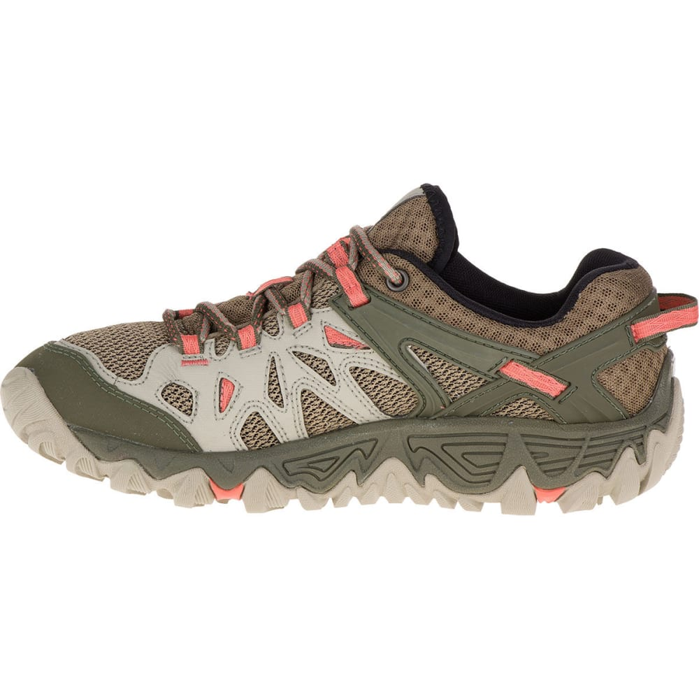 MERRELL Women's All Out Blaze Aero Sport Hiking Shoes, Beige/Khaki - BEIGE/KHAKI