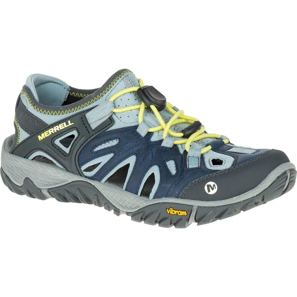 MERRELL Women's All Out Blaze Sieve Hiking Shoes, Blue - BLUE