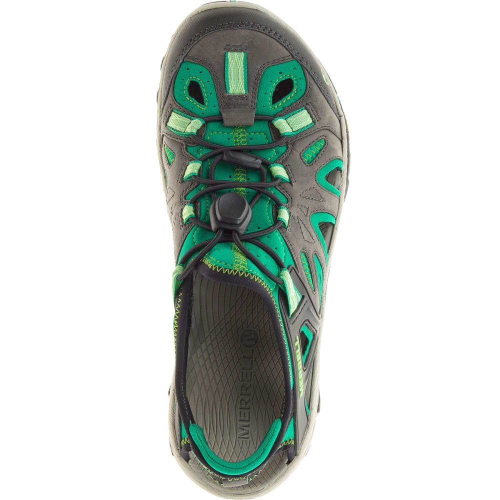 MERRELL Women's All Out Blaze Sieve Hiking Shoes, Bright Green - BRIGHT GREEN
