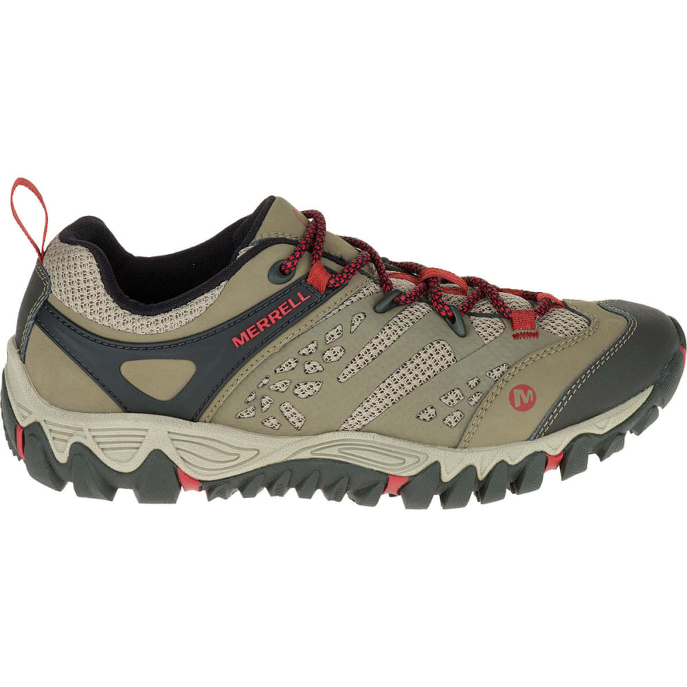 MERRELL Women's All Out Blaze Ventilator Hiking Shoes, Brown - BROWN