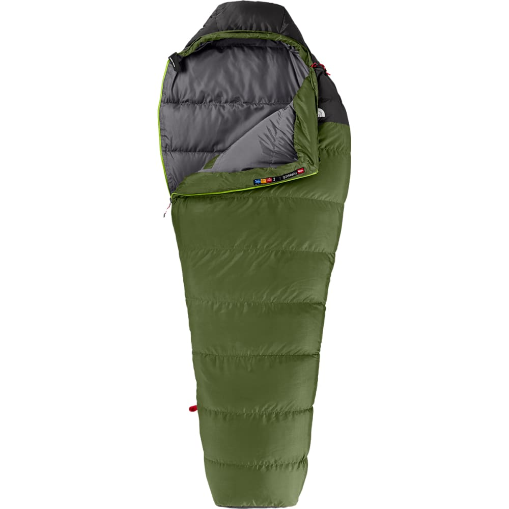THE NORTH FACE Furnace 5° Sleeping Bag, Regular - SCALLION GREEN