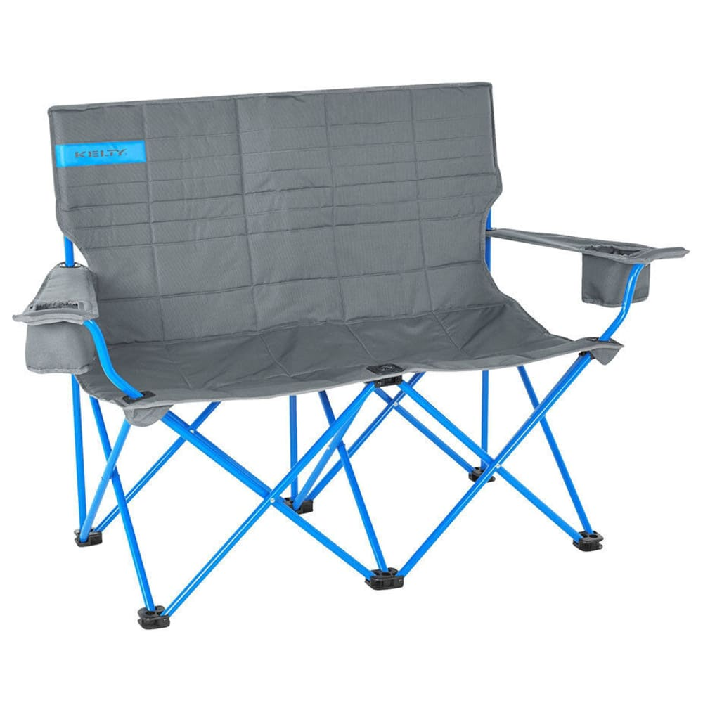 KELTY Loveseat Chair - SMOKE/PARADISE BLUE