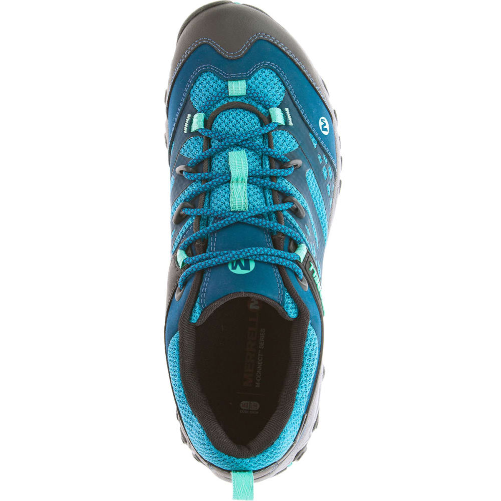 MERRELL Women's All Out Blaze Ventilator Waterproof Hiking Shoes, Turquoise/Aqua - TURQUOISE/AQUA