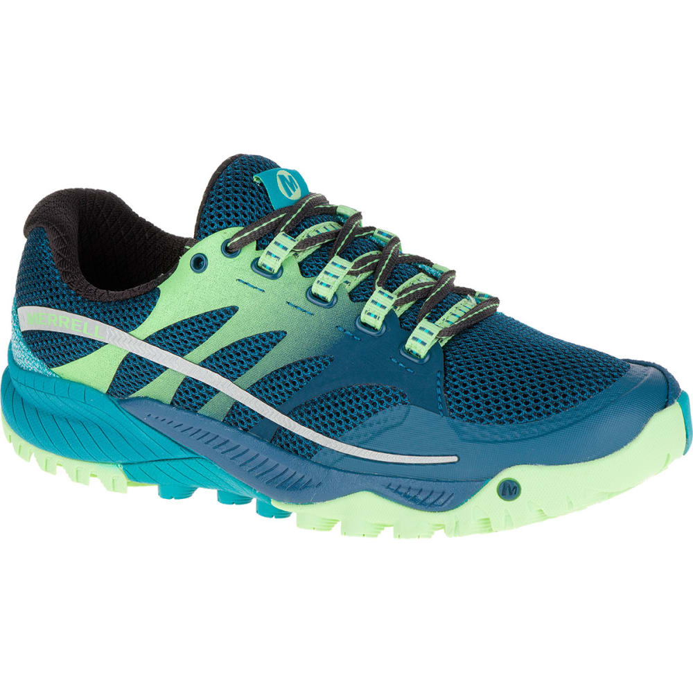 MERRELL Women's All Out Charge Running Shoes, Blue - BLUE