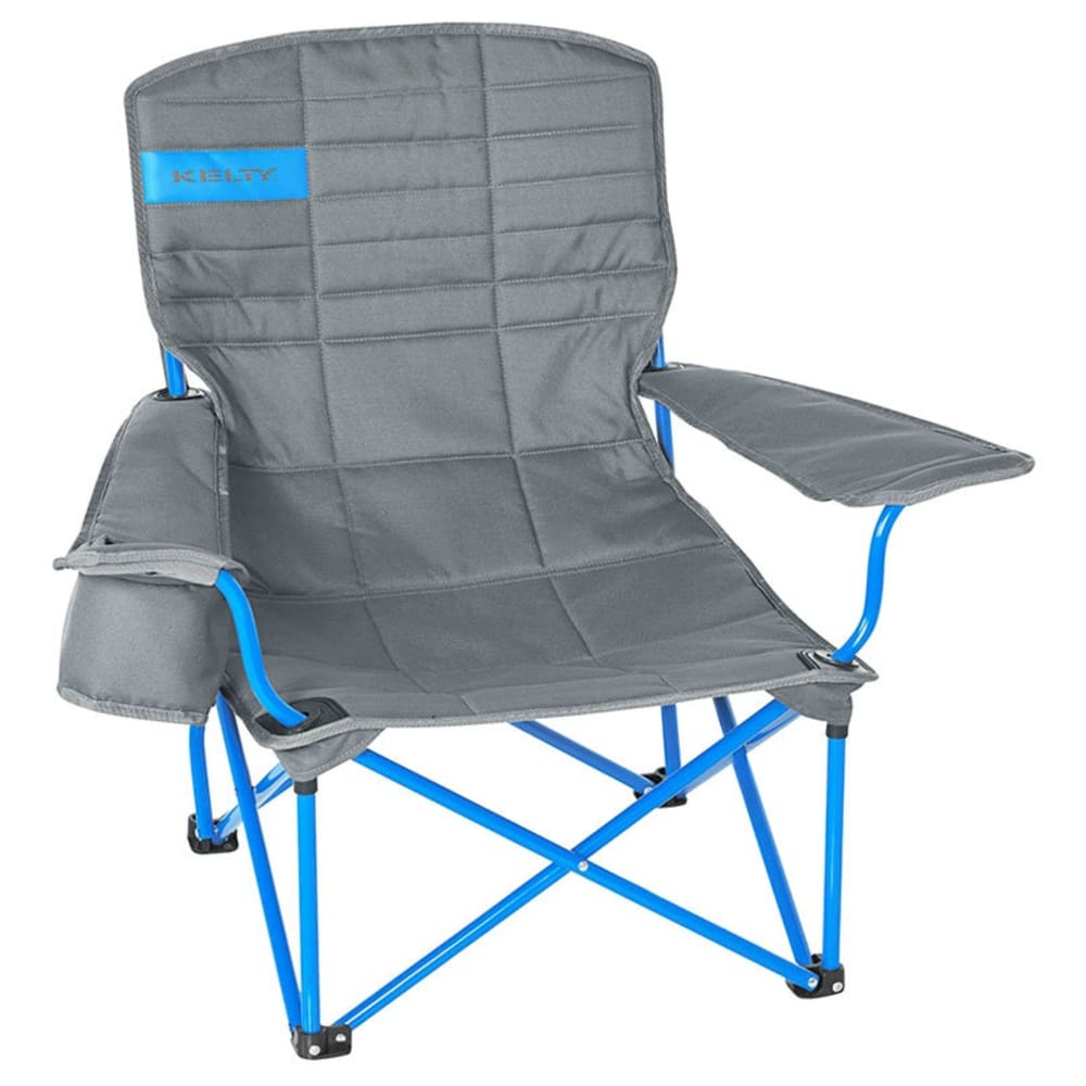 KELTY Lowdown Chair - SMOKE/PARADISE BLUE