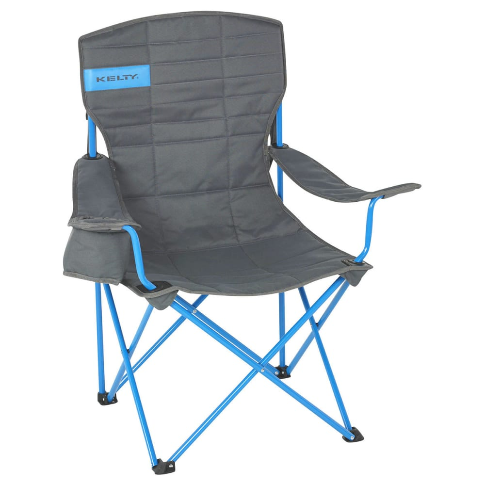 KELTY Essential Chair - SMOKE/PARADISE BLUE