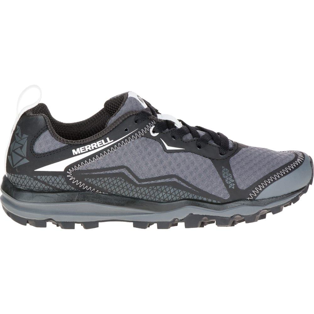 MERRELL Women's All Out Crush Light Trail Running Shoes, Black - BLACK
