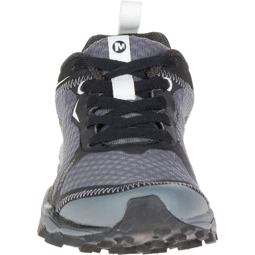 MERRELL Women's All Out Crush Light Trail Running Shoes, Black - BLACK
