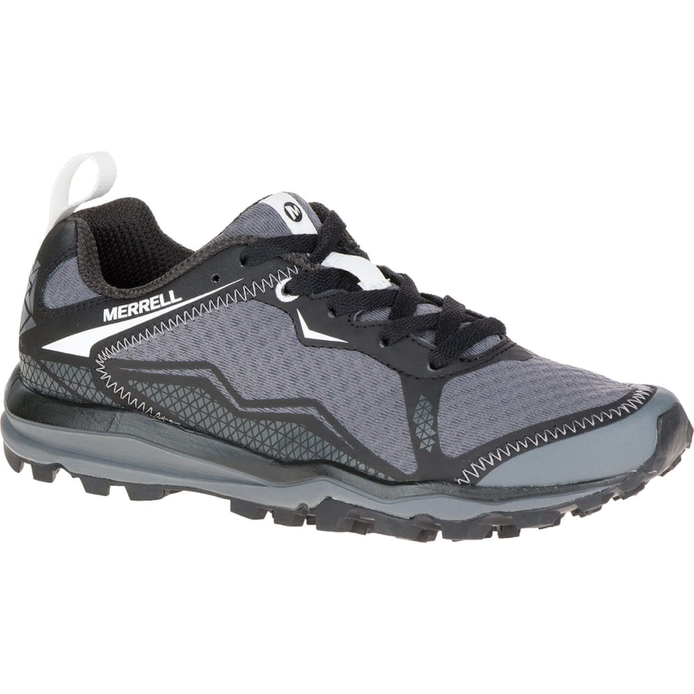 Women's All Black Crush Light Shoes Trail Out Merrell Running 7dqw5A8xd