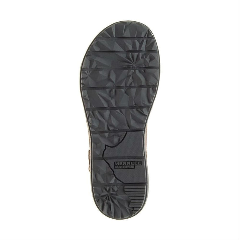MERRELL Women's Around Town Backstrap Sandals, Brown - BROWN