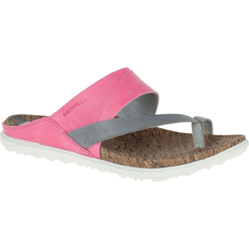 1b2ed74ac3f MERRELL Women  39 s Around Town Thong Sandals