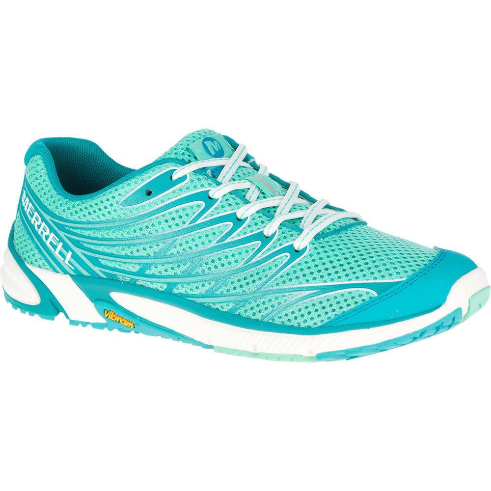 MERRELL Women's Bare Access Arc 4 Running Shoes, Green - GREEN