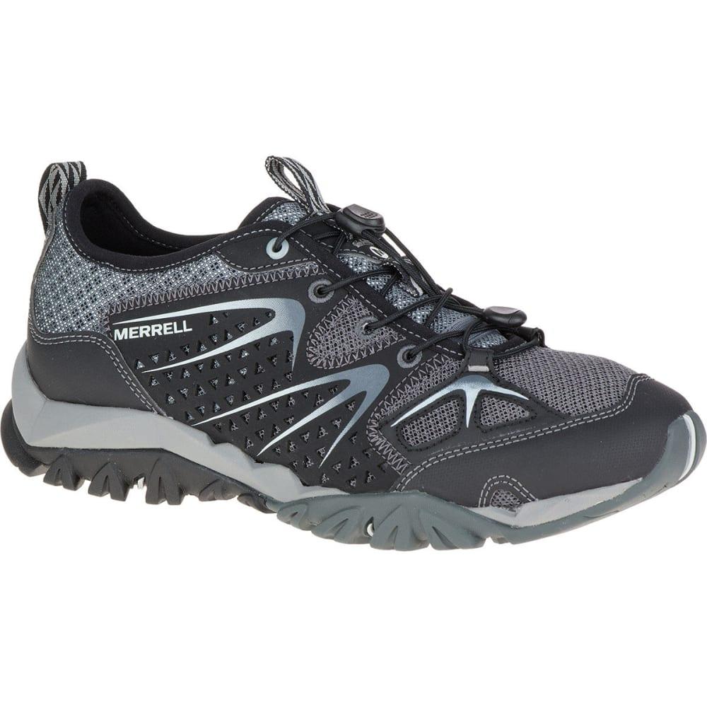 MERRELL Women's Capra Rapid Hiking Shoes, Black - BLACK