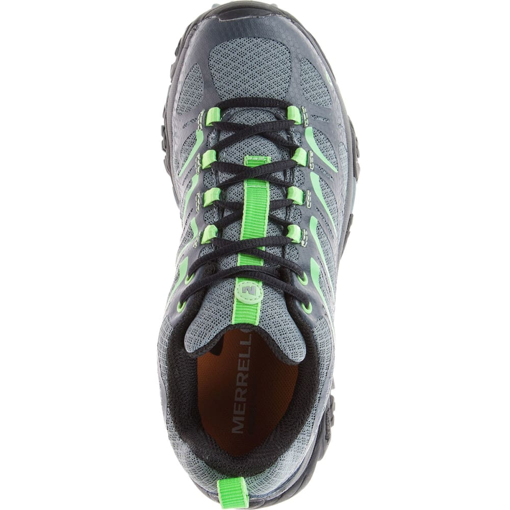 MERRELL Women's Moab Edge Shoes, Grey - GREY