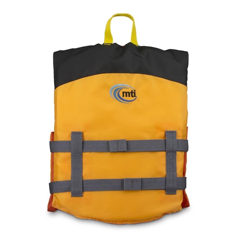 MTI Youth Livery Life Jacket - MANGO/BLACK